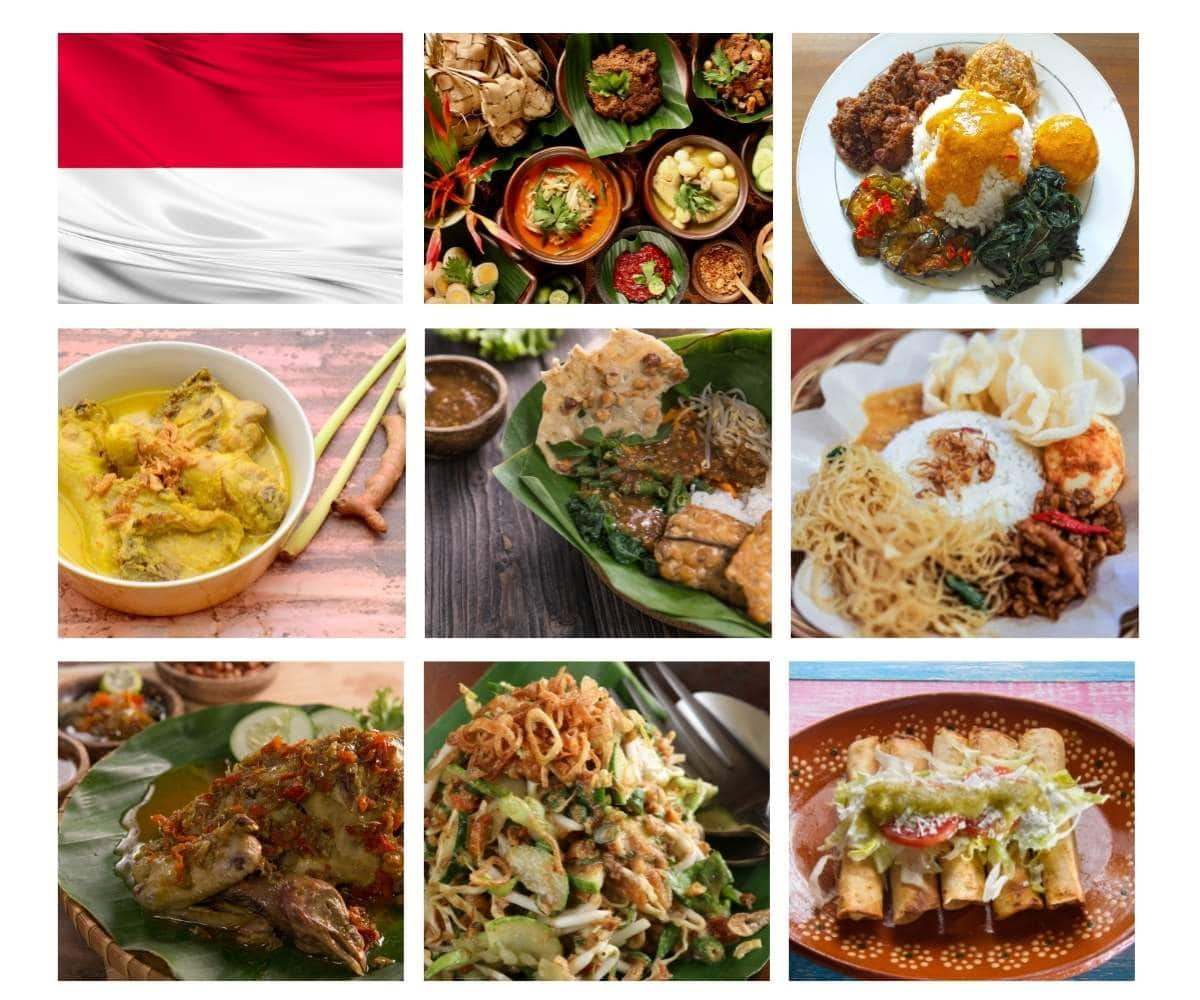 Top 30 Most Popular Foods in Indonesia