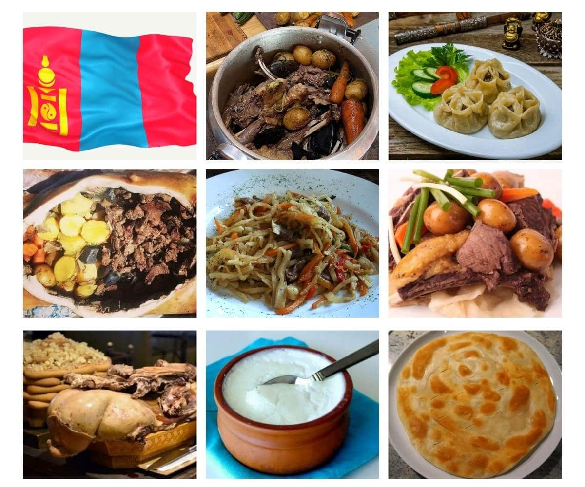 Top 30 Most Popular Foods in Mongolia