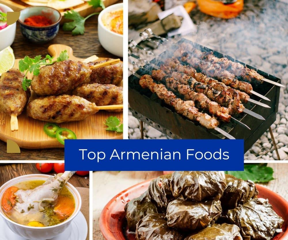 Top Armenian Foods