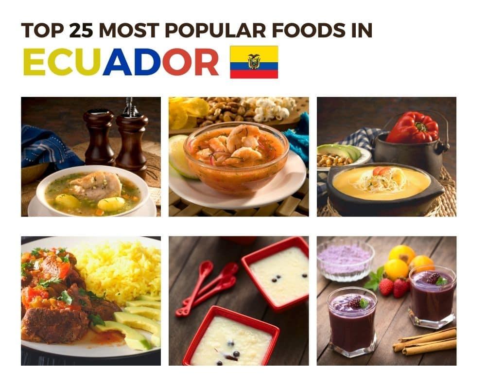 Top Foods in Ecuador