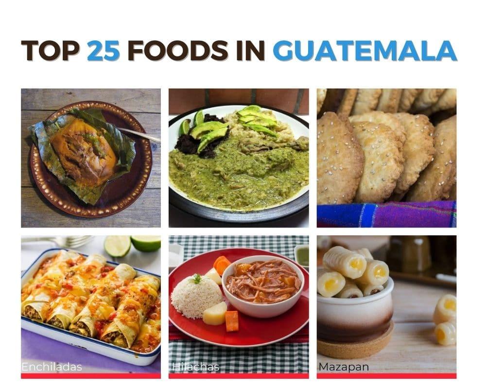 Top Foods Guatemala
