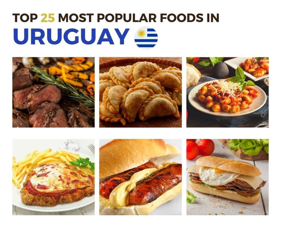 Top Foods in Uruguay