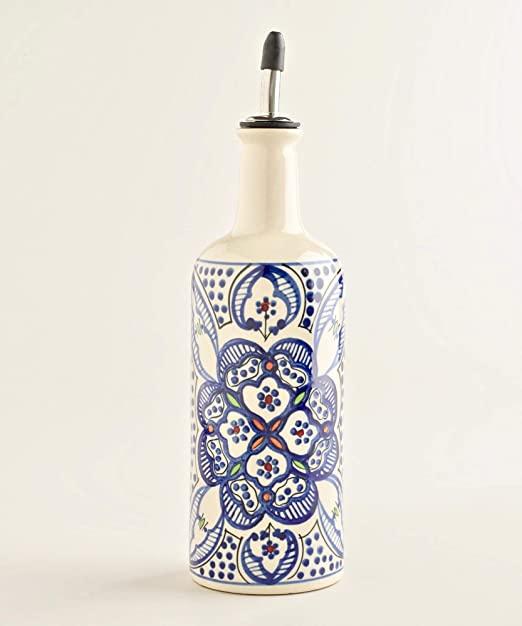 Toysdone Ceramic Oil or Vinegar Bottle Dispenser