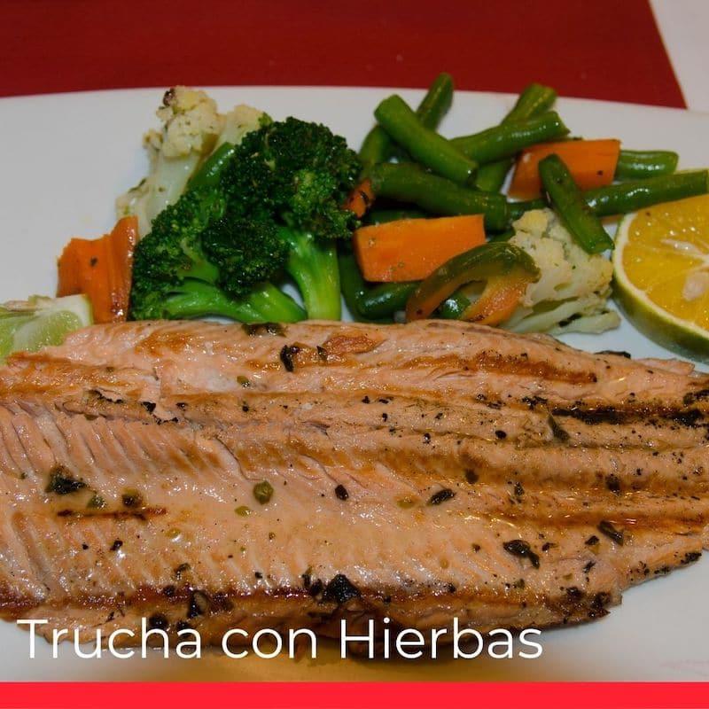 Trucha con Hierbas