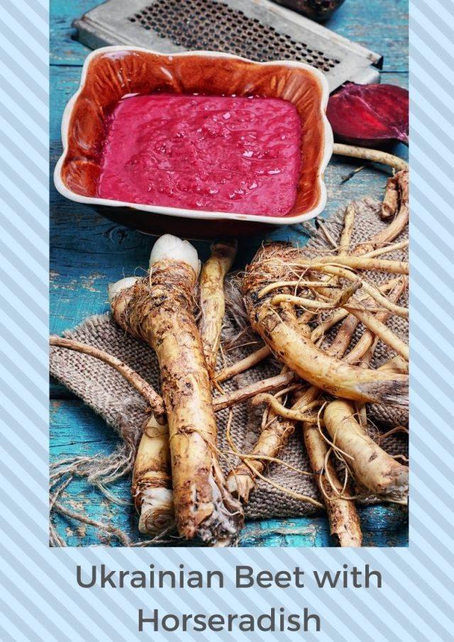 Tsvikli (Beet and Horseradish Relish)
