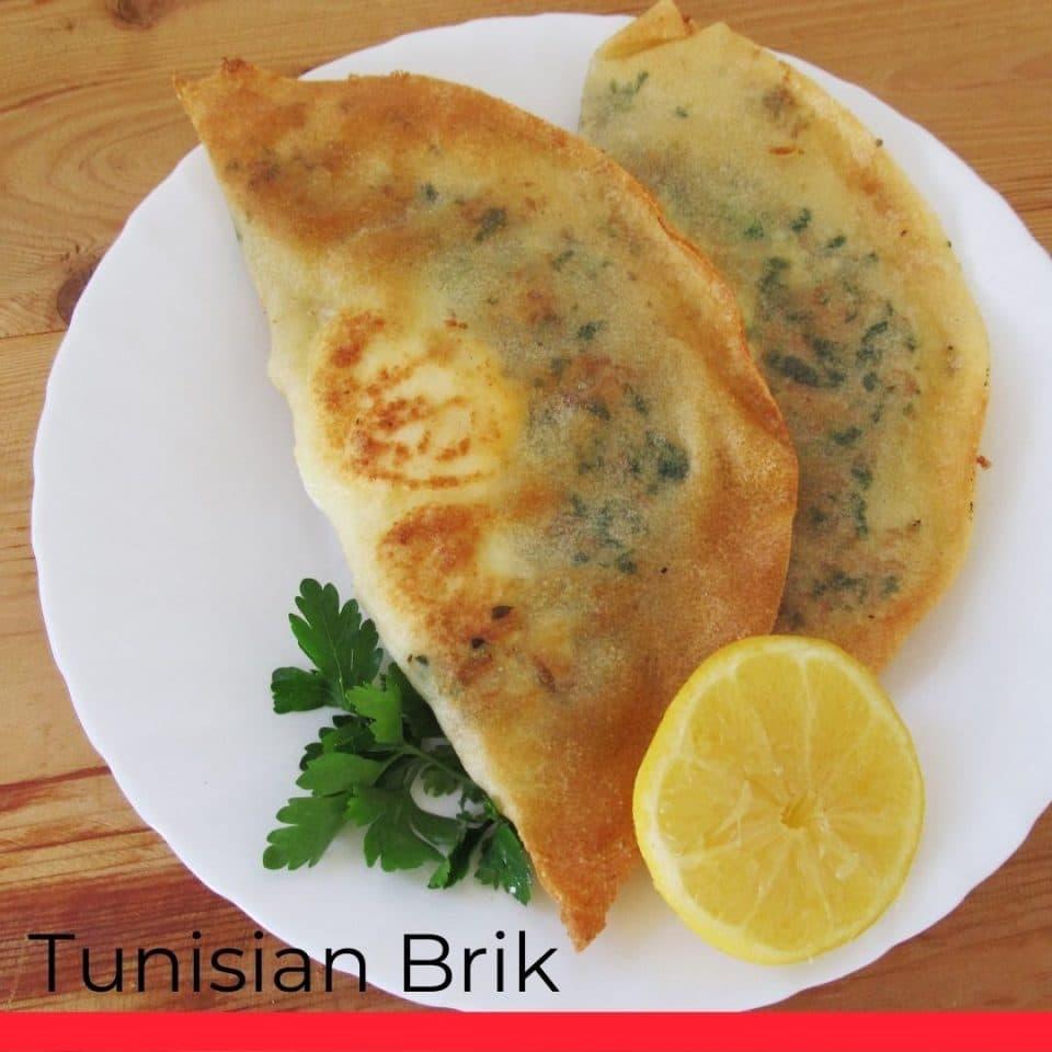 Tunisian Brik