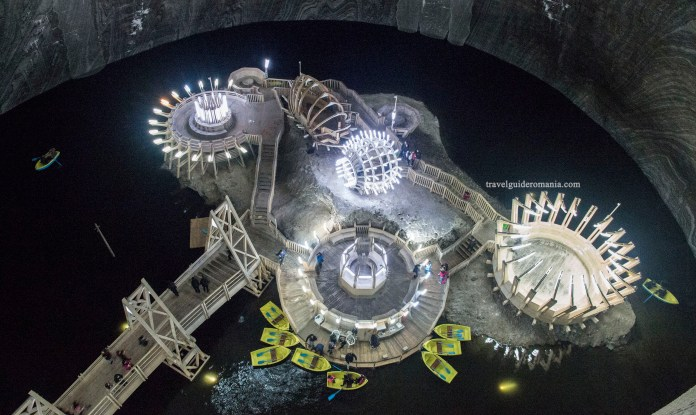 Turda Salt Mine; Photo credit: https://www.travelguideromania.com
