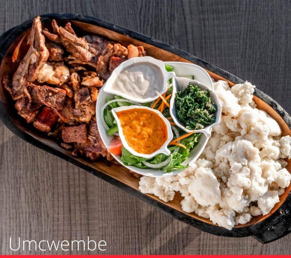 Umcwembe (Grilled Meat Platter)