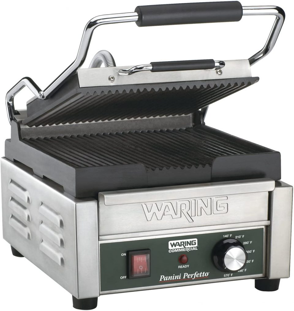 Waring Commercial Compact Italian-Style Panini Grill