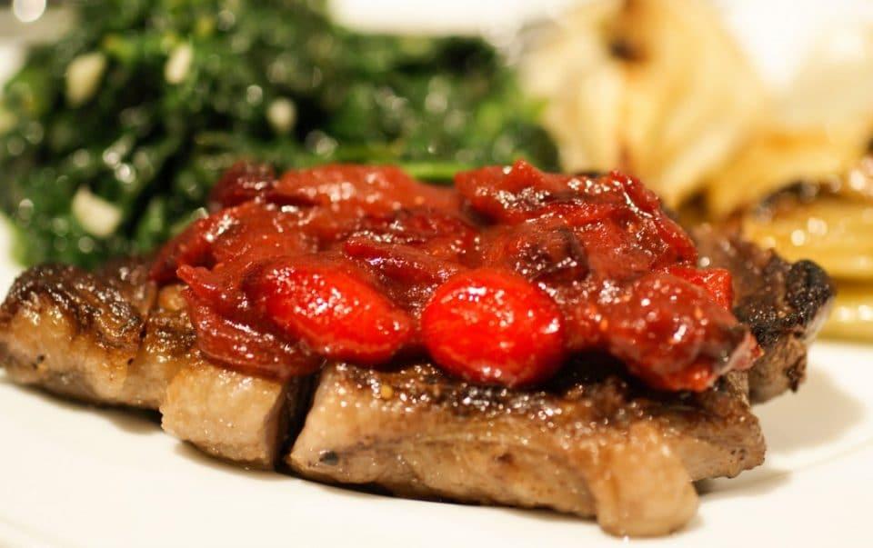 Wild Boar Steak
