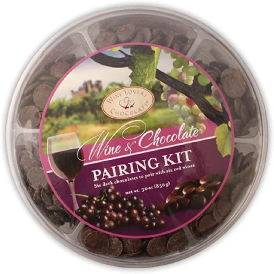 Wine and Chocolate Pairing Kit