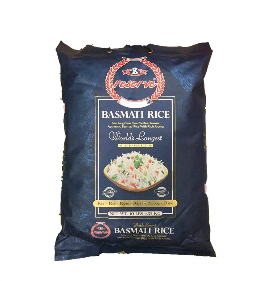 Zafarani Reserve GMO-Free Long Grain Basmati Rice