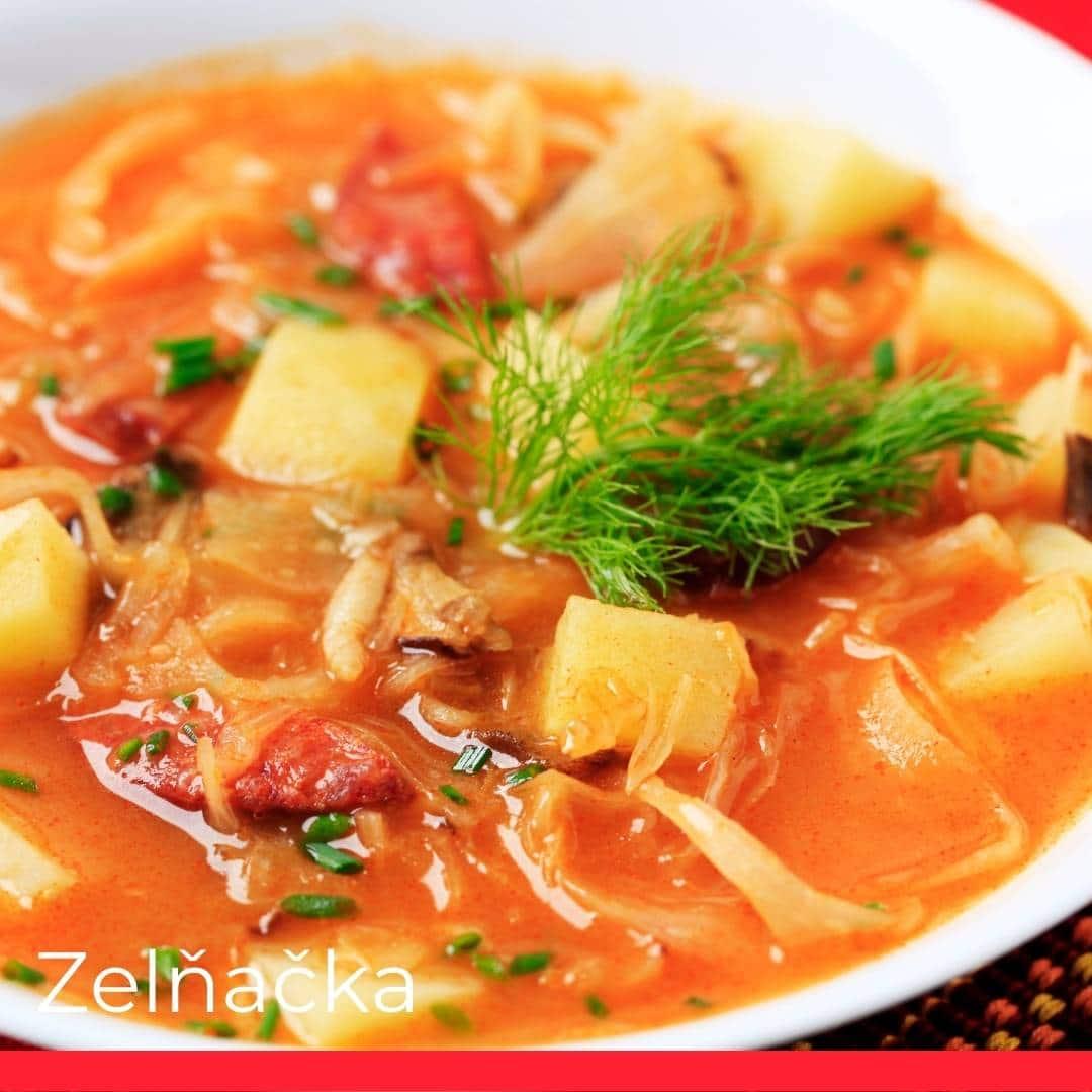 Zelňačka (Sauerkraut Soup)