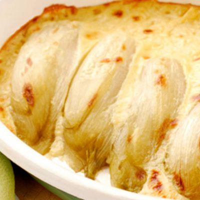 baked endive with cheese