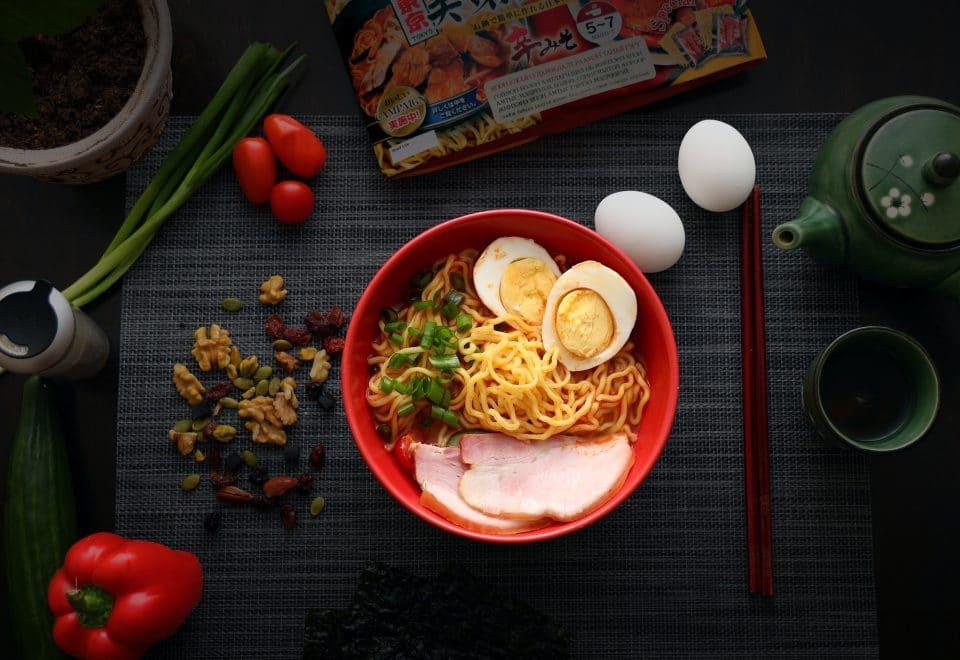 Eggs in Ramen