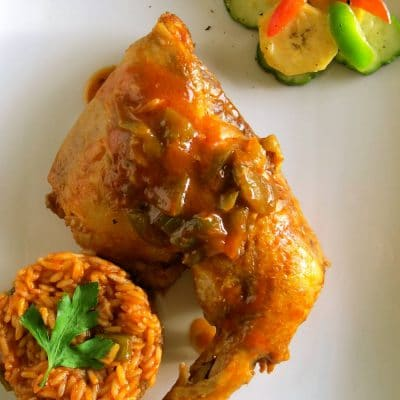 Chicken Jollof