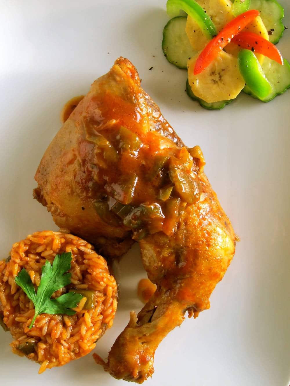 chicken jollof Top 20 Nigerian Foods You Will Like To Test