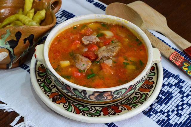 Pork Soup - Ciorba de Porc