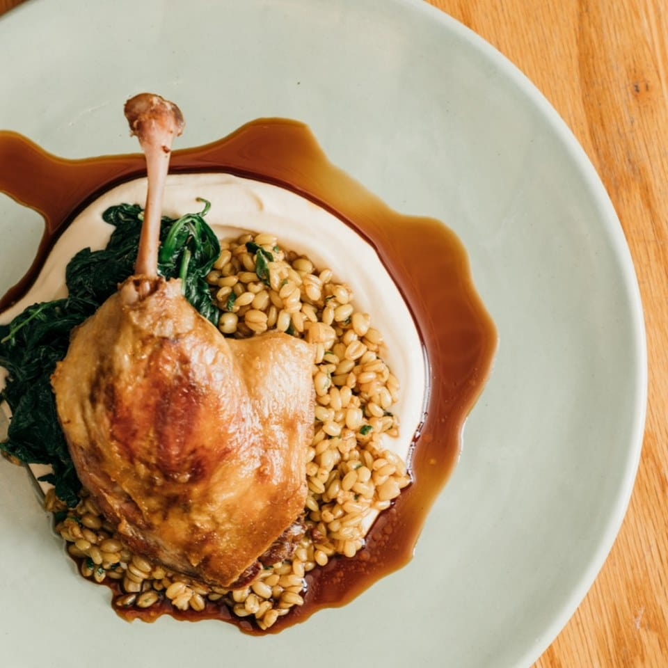 Confit Duck Leg Recipe By Chef Simon Moss