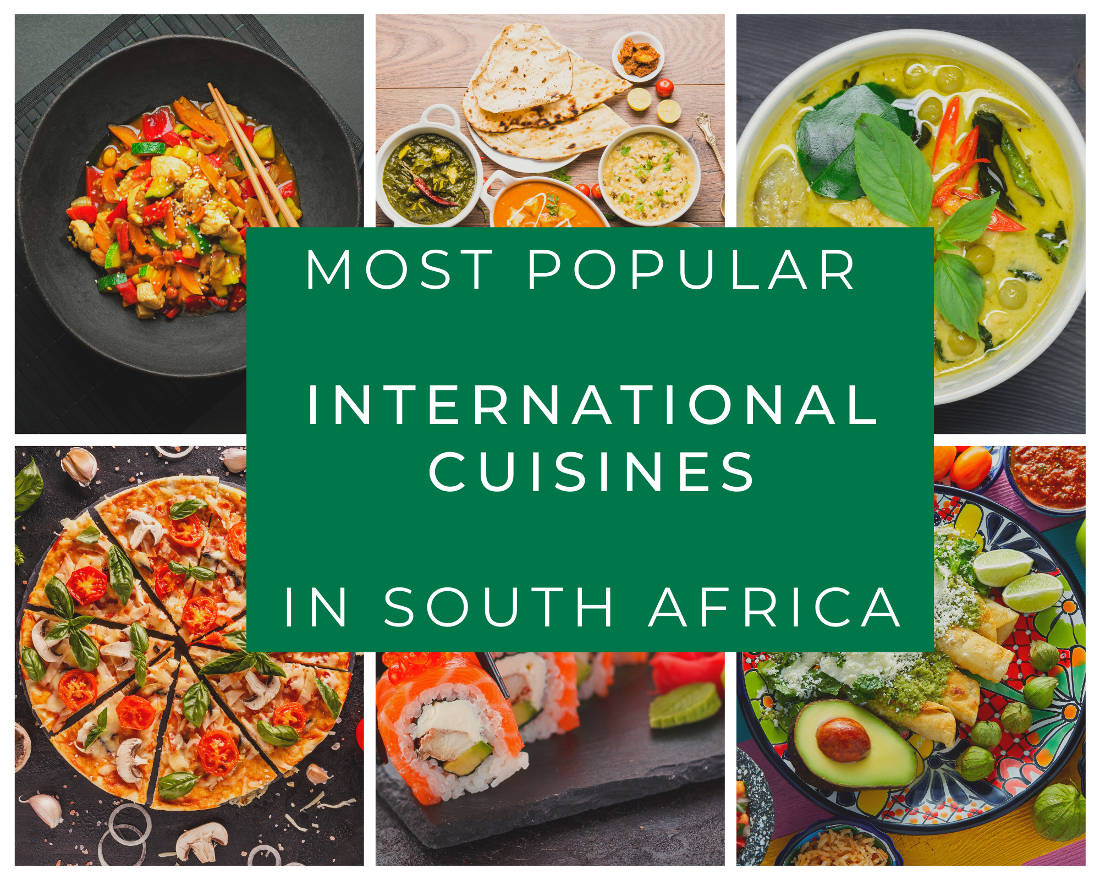 Most Popular International Cuisines in South Africa
