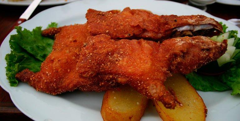 Cuy Chactado (Peruvian Guinea Pig Recipe)