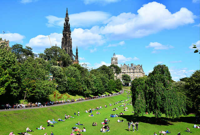 Edinburgh, Scotland;