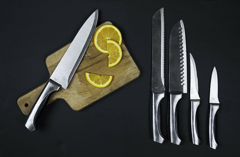 Kitchen Sharp Utensils