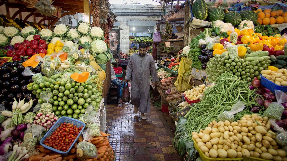 Market in Tangier
