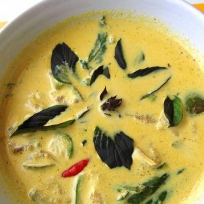 Green Coconut Curry