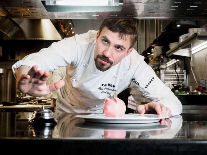 Chef Igor Grishechkin, Kokoko St. Petersburg