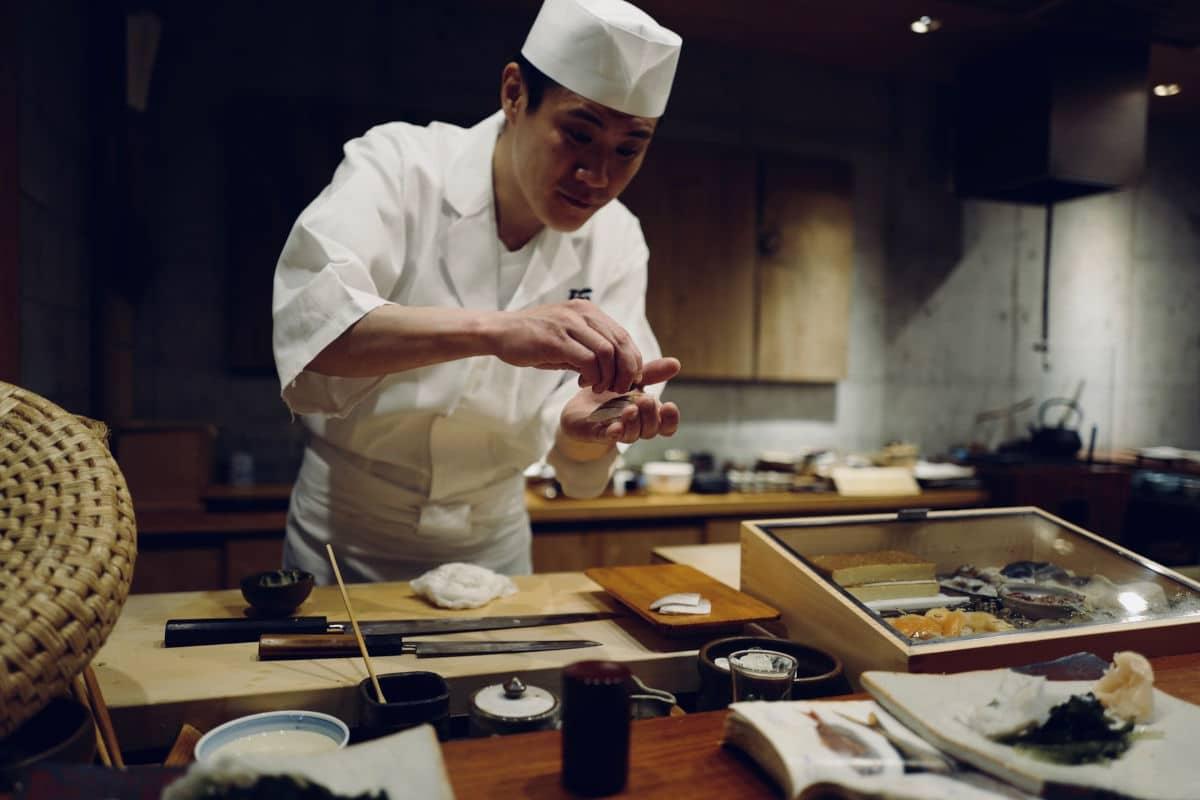 Japanese chef & food