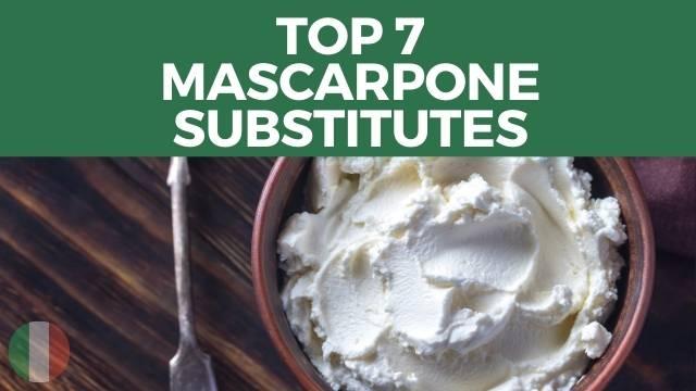 Mascarpone Substitutes