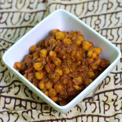 Chickpea Curry Chana Masala