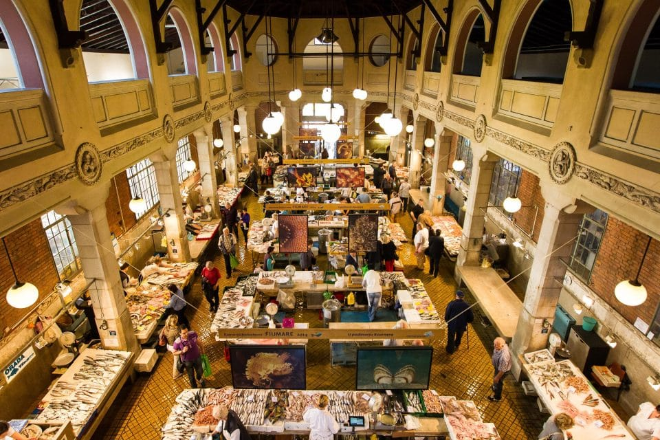 Rijeka fish market