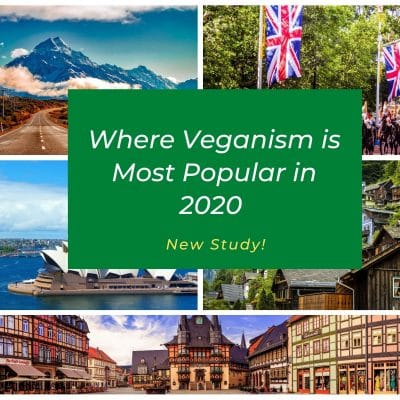 Most Popular Countries for Vegans 2020